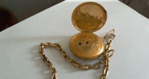 Ceas de aur 18k din 1838