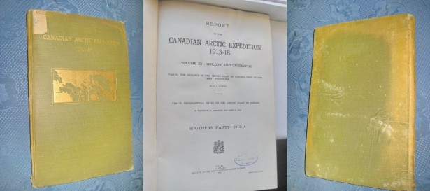 Canadian Arctic Expedition. Expeditia Antarctica canadiana 1913- 1918.