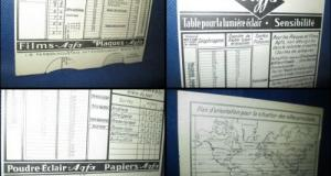 Manual Agfa vechi-Model d' employ vechi interbelic. Deosebit Manual de utilizare rapida, bogat si de