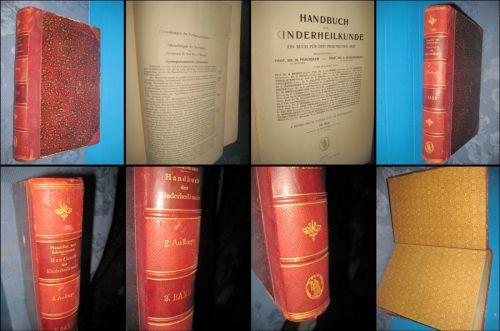 Manual Medicina copilului anul1910, editia 2-a, vol 3. Gros copertat, stare buna editie de specialit