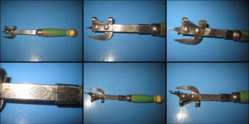A&J Deschizator militar vechi USA-Tool Stee Empfred, similar armata germana ww2.