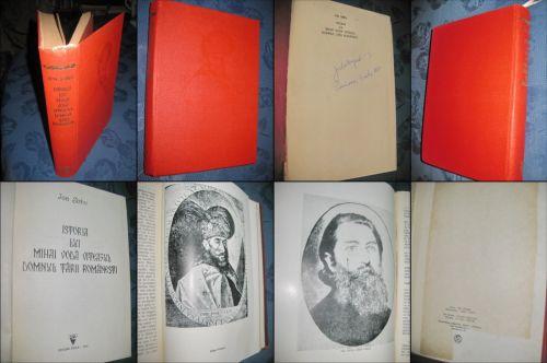 Ion Sarbu-Istoria lui Mihai Voda Viteazul-Domnitorul Tarii Romanesti. Editie de Lux, gros copertata