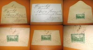 Romania-Corespondenta veche Scrisoare mica Necsa. Timbrata si datata 31 decembrie 1939, scris frumos