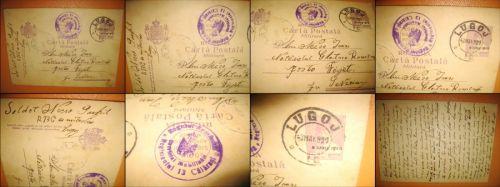 CP36-Carta Postala Militara. Reg. 13 Calarasi. R13. C MItraliori. Romania regalista- Serviciul Mobil