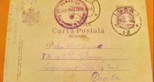 Carte Postala Militara-Expeditie- Reg. 13 Calarasi. Romania regalista. Soldat Necsa Pamfil mitralior