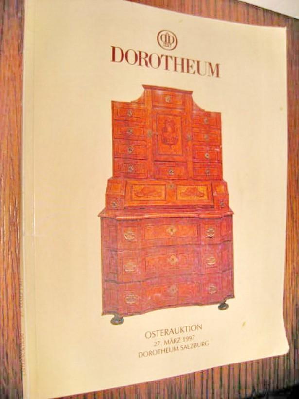7300-Catalog Antichitati cu preturi Dorotheum 27 Martie 1997.