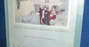 L`Opera Italiana-1928. Revista veche Cultura-Muzica.