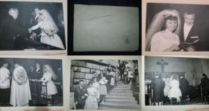Album de nunta vechi Belgia 1960, minim 16 file.