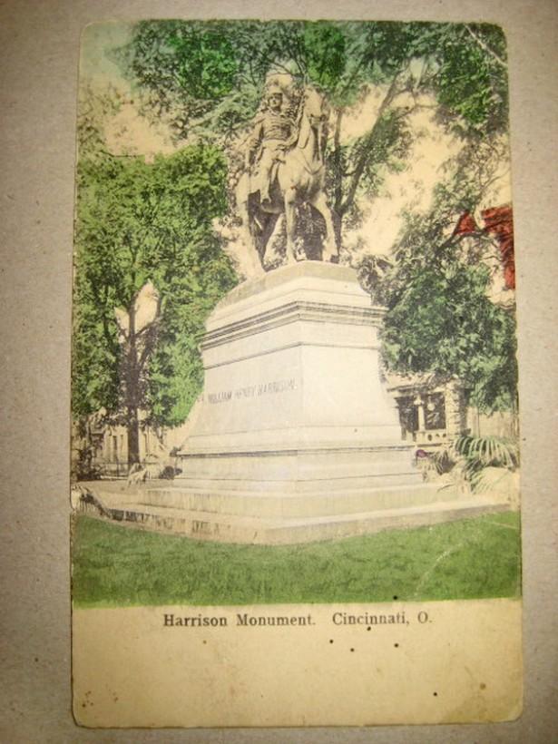 I-Harryson monument Cincinnati Ohio USA vedere veche