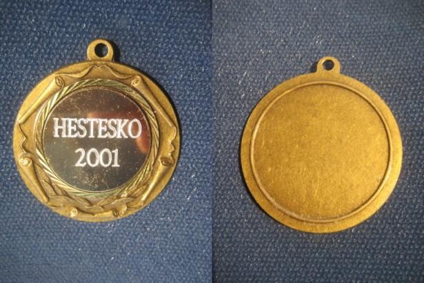 Medalii sportive hipism-calarie Suedia alama aurita si bronz.