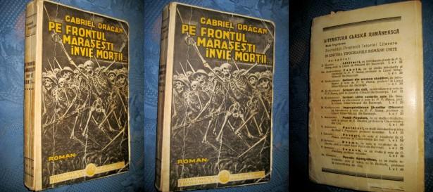 Gabriel Dragan- Pe frontul de Vest invie mortii-1934.