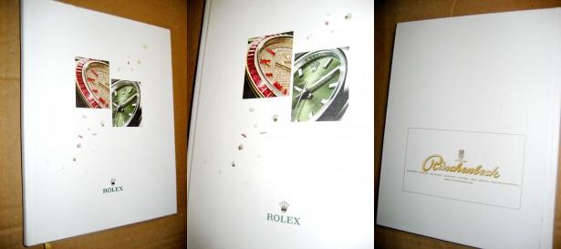 Catalog Oyster Rolex Perpetual Ed. Pischenbeck Rolex SA 2017-2018.