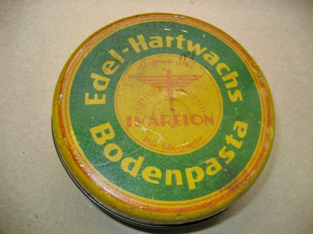 Ikareion Edel-Hartwachs Bodenpasta-cutie veche pasta parchet