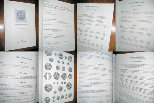 Catalog mare Licitatii Monede-Medalii antice Auktion 18- anul 2004.