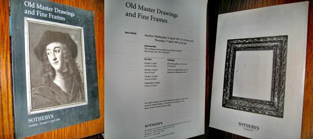 Catalog antic Sotheby`s Mari Maestri ai Gravurii & Rame deosebite.