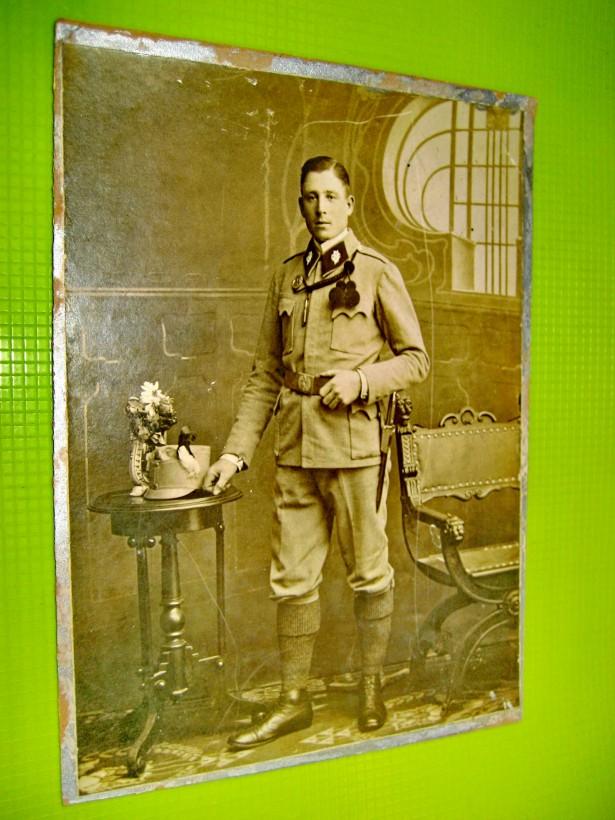 9924-Foto Militar alpin Vanatori de munte-Primul razboi mondial.
