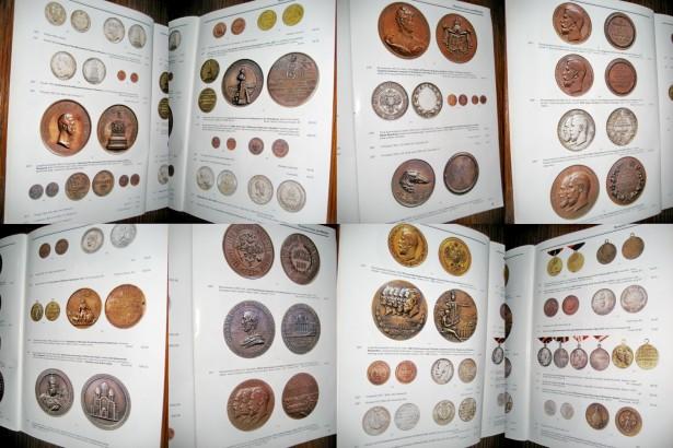 Revista Licitatie: Rusia-mica colectie de monede-medalii antice 2008.