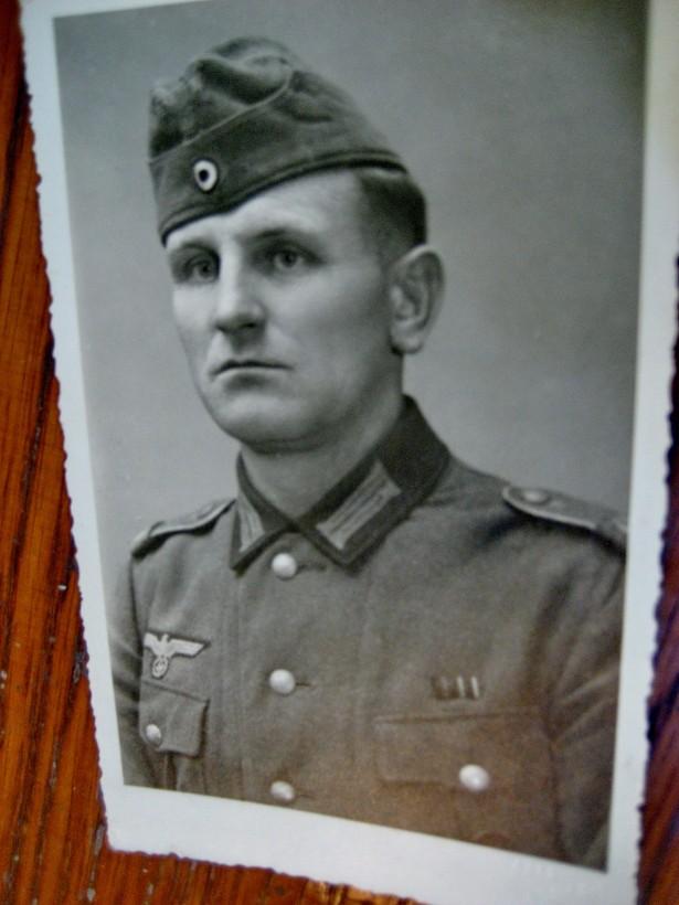ww2-3Reich-Foto Militar in uniforma.