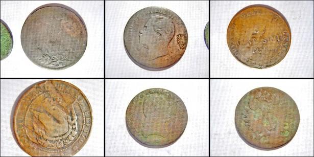 Set 11 Monede bronz vechi majoritatea Austria uzate 1750-1800.