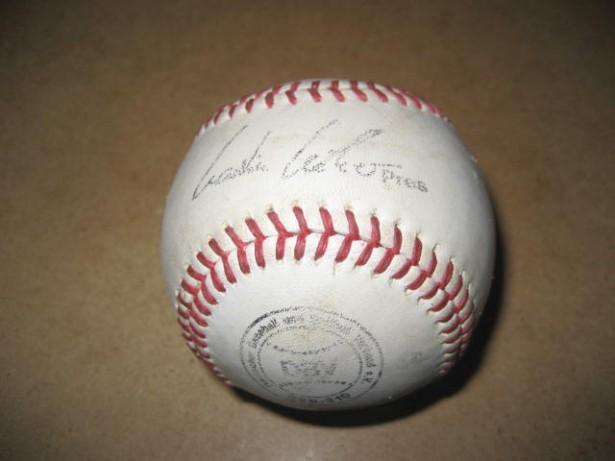 A54- Minge colectie Baseball DBV SSK autograf jucator semnata piele.