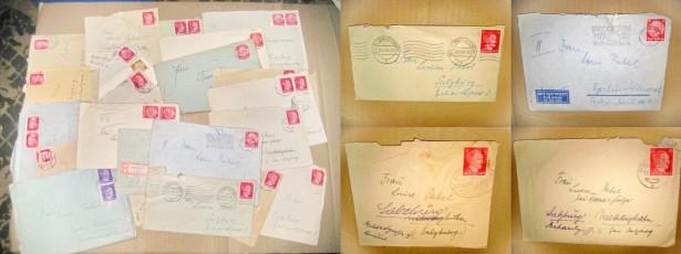 A535-Lot 2- 24 Scrisori al 3 lea Reich timbre cu Hitler, Hindenburg.