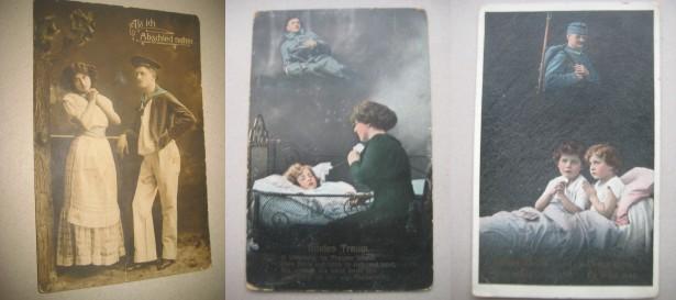 A909- carti postale vechi-Militari primul si al 2 lea razboi mondial.