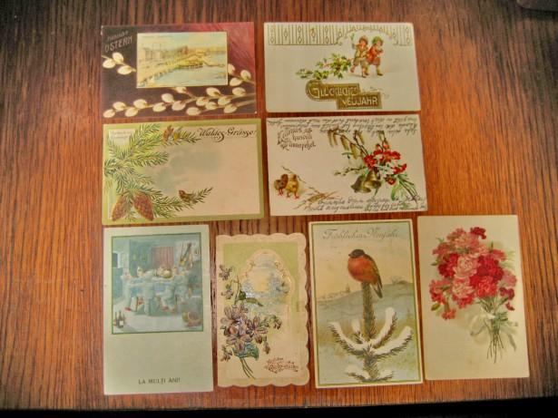 A915-Felicitari Carti Postale deosebite vechi anii 1900-1935.