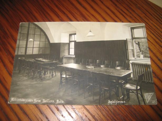 B20-Foto Spital reconvalescenti Zeillern Austria 1927 camera jocuri.