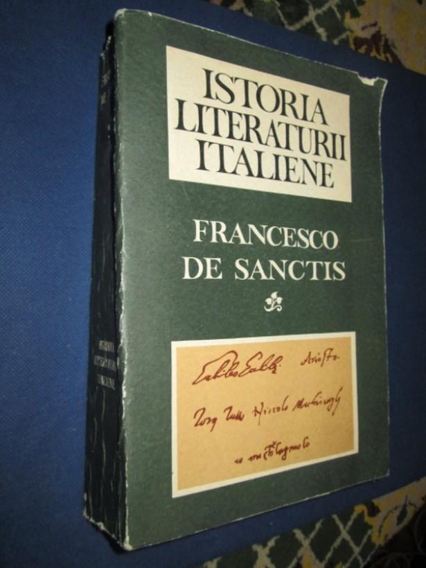 2216-I-Francesco de Sanctis-Istoria Literaturii Italiene.