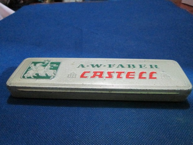 1509-I-A.W. Faber Castell- Set german vechi interbelic de creioane.