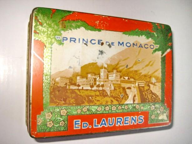 4291-2 Cutii Prince de Monaco Ed Laurentis tigarete vechi