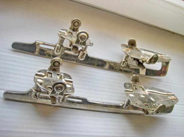 4737-Patine-skates GLORIA Edelstahl in stare buna de folosire.