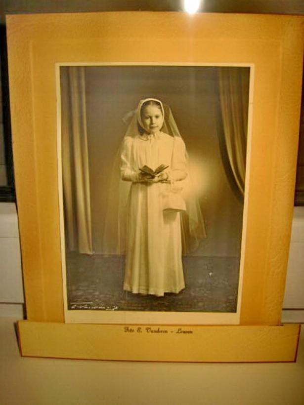 5634-Tanara in rochie Mireasa-Foto Kabinet 1900 E.Vandoren- Leuven.