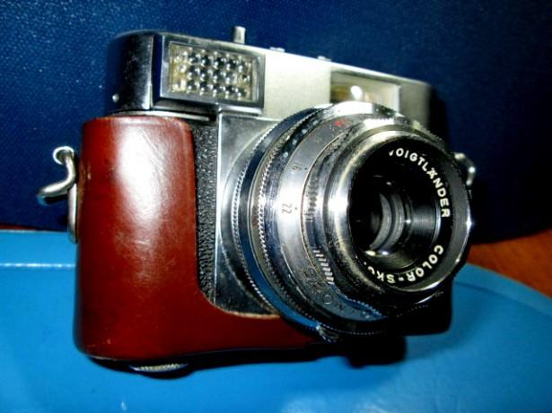 5744-Aparat Foto Viglander-Vitomatic1. Obiectiv Voigtlander.