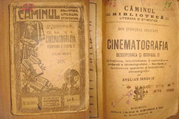 2749-DR. S. Ionescu-Cinematografia-1926-Descoperirea si istoricul ei.