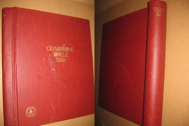 B800-I-Catalog Timbre Olimpiada Moscova 1980 cu tarile socialiste.