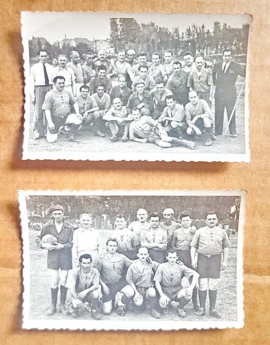 C613-Set 2 Foto vechi cu formatii sportive.