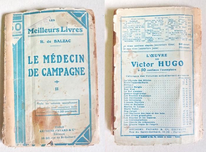 C914-Medicina de campanie-H.D. Balzac vol. 2