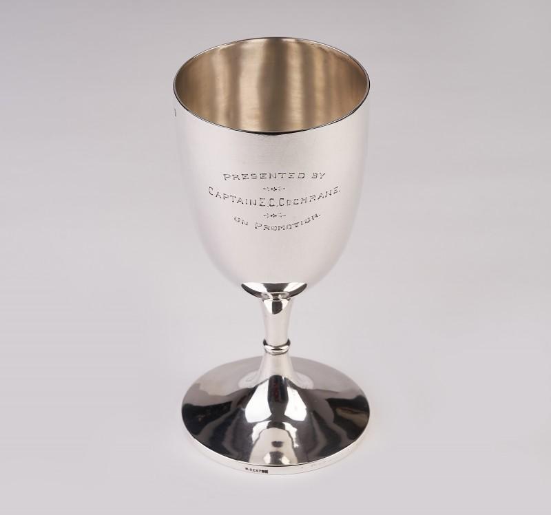 Pocal,cupa argint 950,Irlanda an 1898,purificare apa 350 ml