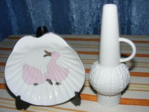 Vaza de porțelan Op-Art de Royal KPM si bonus