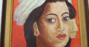 Portret-ulei pe placaj-35-25