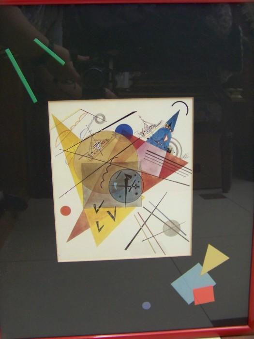 tablou  1reprod.Kandinsky 52-42 cm