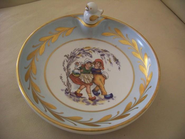 farfurie-recipient portelan Limoges  diam 18 cm