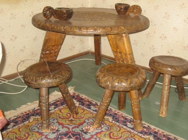 masuta  cu 3 scaunele