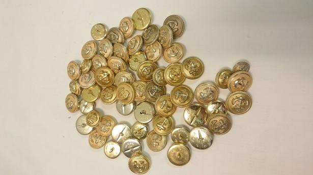Nasturi bronz. Ancoră. Franța. 1930-1950