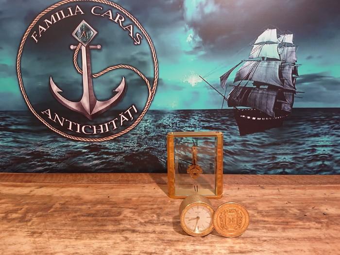 Ceas mecanic alarmă Swiza 7 rubine Elveția