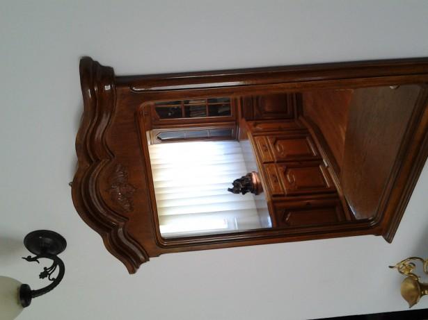 Oglinda  lemn sculptata stil Neo baroc