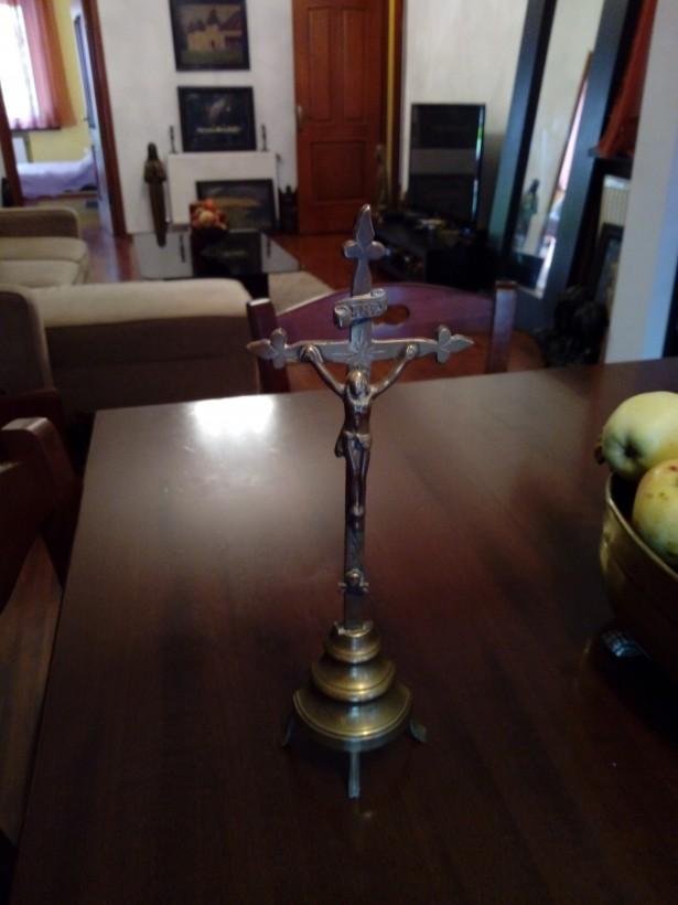 Crucifix bronz 30cm