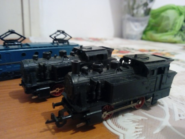 Locomotiva  trenulet Tt12 Electric. 1970
