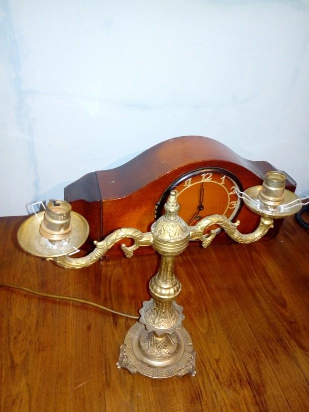 Lampa tip sfetnic bronz masiv